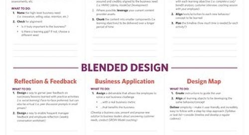 Blended Design Business Case Planner