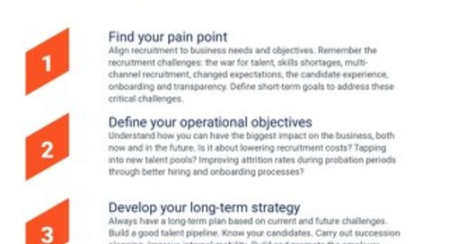 4 Key Steps to Recruiting Success!
