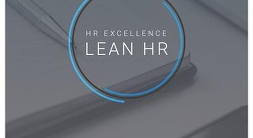 HR Excellence - Lean HR