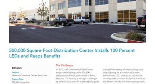 500,000 Square-Foot Distribution Center Installs 100 Percent LEDs and Reaps Benefits