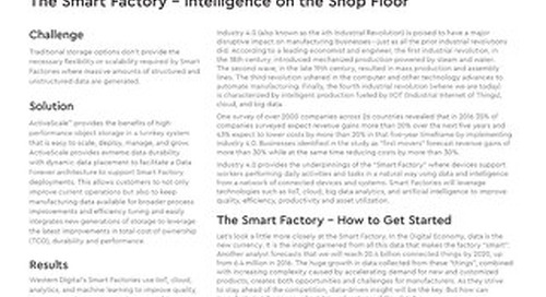 Smart Factory - Intelligence on the Shop Floor