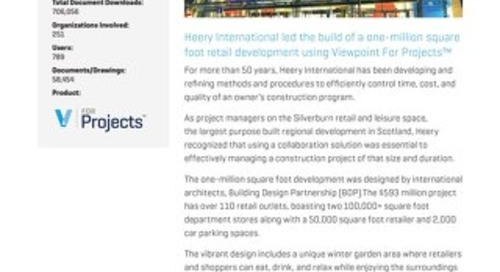 Heery International Uses Viewpoint for Projects to Provide Effective Project Management
