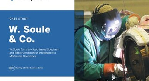 W Soule & Co. Turns to Cloud-Based Spectrum and Spectrum BI to Modernize Operations