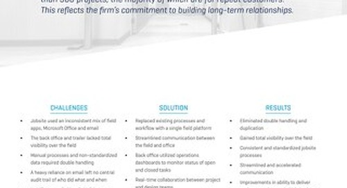 Primus Builders Integrates the Field & Office with Viewpoint Construction Software