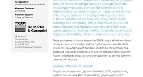 De Martin & Gasparini Use Jobpac to Improve Efficiency and Data Integrity