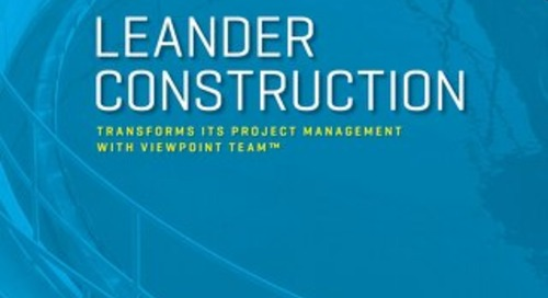 How Leander Construction Transformed Their Project Management