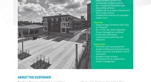Sachse Construction Reduces Cost and Decreases Project Risk