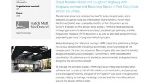 Hatch Mott McDonald Massive Project with Viewpoint for Projects Help