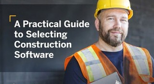 A Practical Guide to Selecting Construction Software