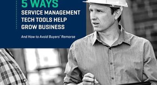 Service Management Technology Tools
