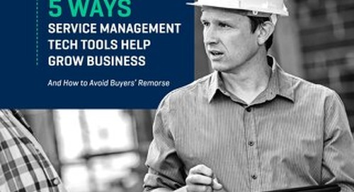 Service Management Technology Tools