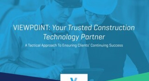 Viewpoint: Your Trusted Construction Technology Partner