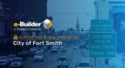 City of Fort Smith Enhanced Efficiency With a Cloud-Based PMIS