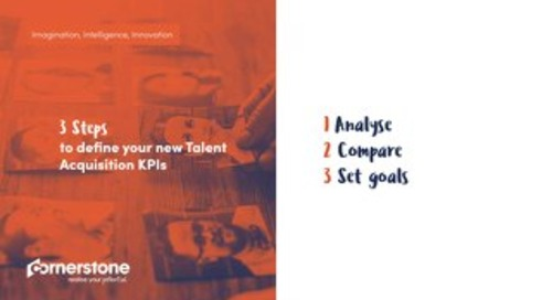 Three steps to define your new Talent Acquisition KPIs