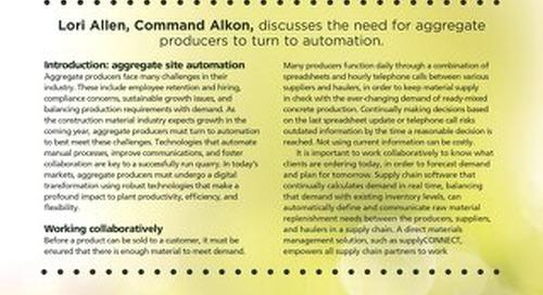 """""""Digital Transformation"""" Featured in World Cement Magazine"""