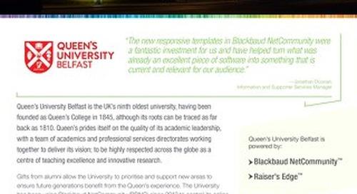Queen's University Belfast | Customer Spotlight