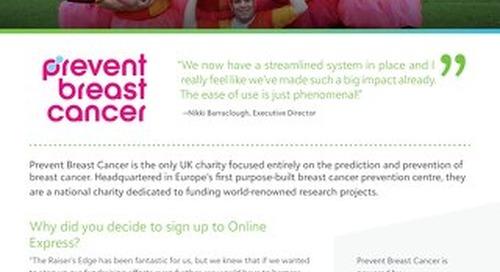 Prevent Breast Cancer | Customer Spotlight