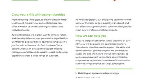 Apprenticeships - Overview