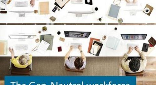 The Gen-Neutral Workforce
