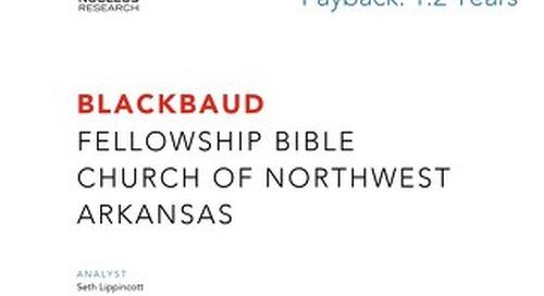 ROI Case Study: Fellowship Bible Church of NWA