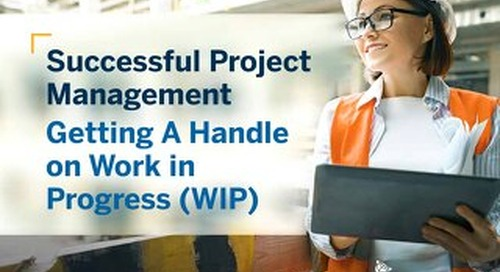 Successful Project Management-Getting A Handle on WIP