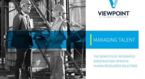 Managing Talent in the Construction Industry