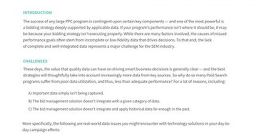 Are Data Issues Preventing You From Achieving Peak Performance? [Pains Series Doc]