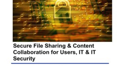 Secure File Sharing & Content Collaboration for Users, IT & IT Security