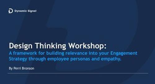 Design Thinking Workshop - Employee Personas