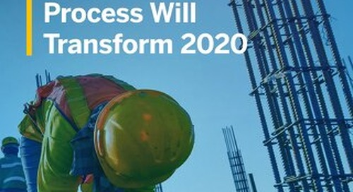 How the Constructible Process Will Transform The Construction Industry By 2020