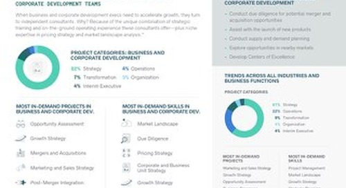 Business and Corporate Development Trends - The 2019 High-End Independent Talent Report