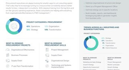 Procurement Trends - The 2019 High-End Independent Talent Report