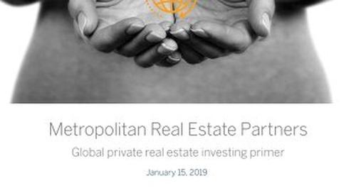 Global private real estate investing primer