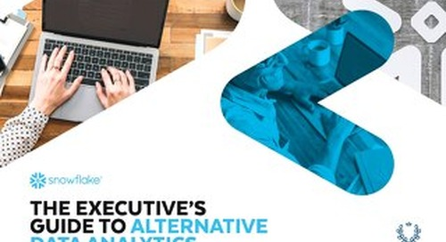 The Executive's Guide to Alternative Data Analytics