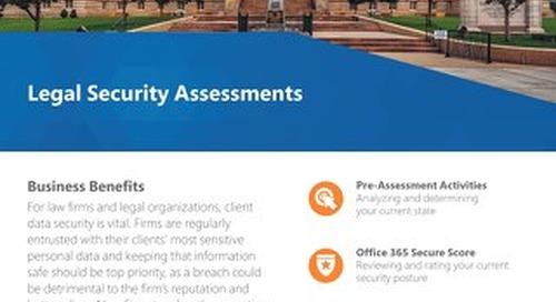 Legal Security Assessment Flyer 2018