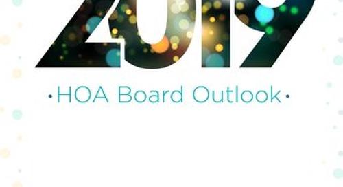 2019 HOA Board Outlook