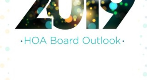 2019 HOA Board Outlook