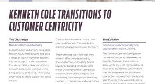 Kenneth Cole + Custora