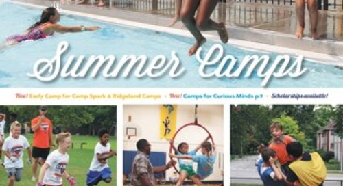 Park District of Oak Park Summer Camp Guide 2019