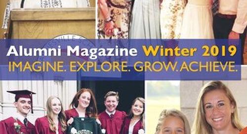 Fall 2018 Alumni Magazine