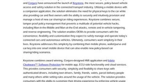 Press Release: Keystone