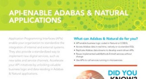 API-enable your Adabas & Natural apps