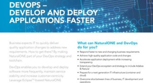 Adopt DevOps for Adabas & Natural app development