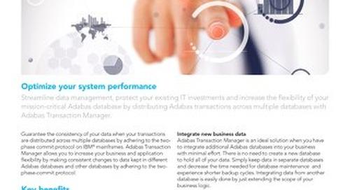 Adabas Transaction Manager