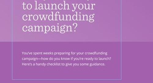 ATB Crowdfunding Checklist Ready to Launch
