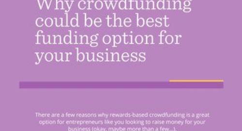 ATB Crowdfunding Infographic Why Crowdfunding Could Be the Best Option