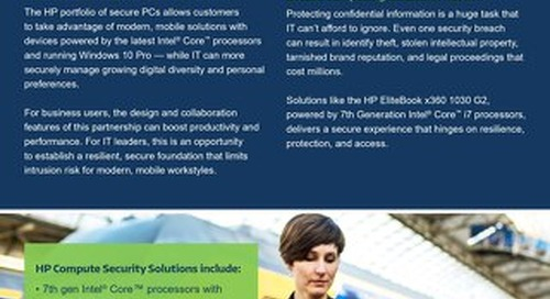 HP Compute Security Solutions