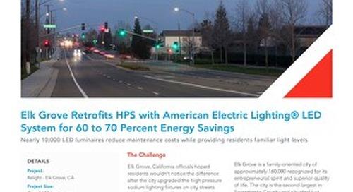 Contempo and Autobahn LED for Elk Grove, CA Retrofit