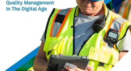 Quality Management In The Digital Age