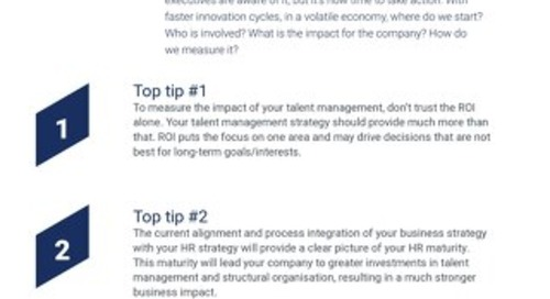 5 Tips: CEOs and CFOs Talent Management is Your Business